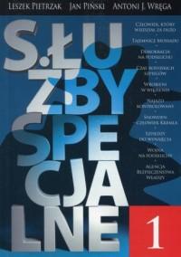 Służby specjalne 1 - Leszek Pietrzak - okładka książki