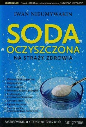 Soda oczyszczona na straży zdrowia - okładka książki