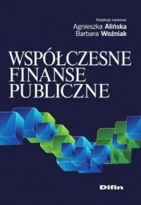 Współczesne finanse publiczne - okładka książki