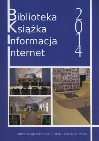 Biblioteka, książka, informacja, - okładka książki