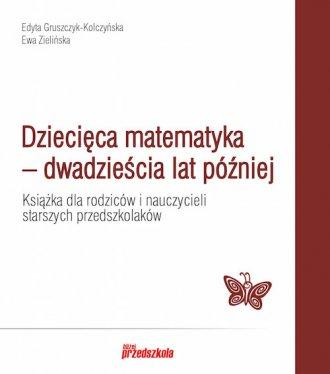 Dziecięca matematyka - okładka podręcznika