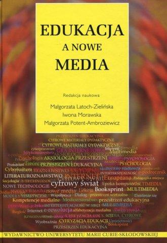 Edukacja a nowe media - okładka książki