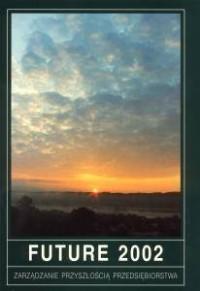 Future 2002. Zarządzanie przyszłością przedsiębiorstwa - okładka książki