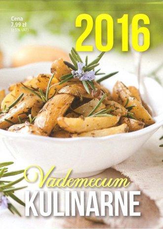 Kalendarz 2016. Vademecum kulinarne - okładka książki