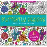 Kolorowanka artystyczna. Wzory motyli - okładka książki