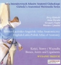 Kości, stawy i więzadła. Polsko-łacińsko-angielski atlas anatomiczny - okładka płyty