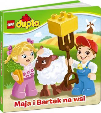 Lego Duplo. Maja i Bartek na wsi - okładka książki