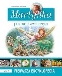 Martynka poznaje zwierzęta. Pierwsza encyklopedia - okładka książki