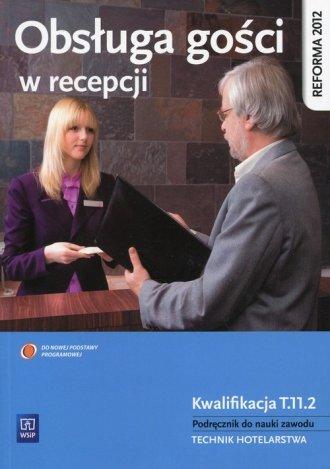 Obsługa gości w recepcji. Podręcznik - okładka podręcznika