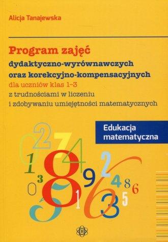 Program zajęć dydaktyczno-wyrównawczych - okładka podręcznika