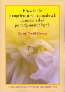 Rozwijanie kompetencji emocjonalnych - okładka książki