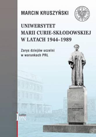 Uniwersytet Marii Curie-Skłodowskiej - okładka książki