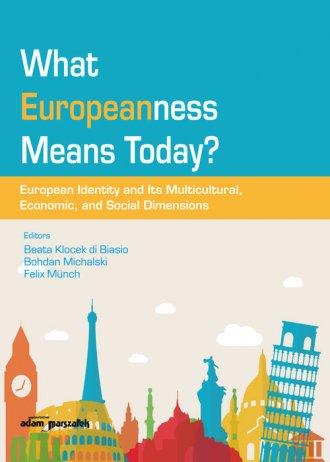 What Europeanness Means Today? - okładka książki