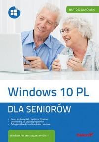 Windows 10 PL. Dla seniorów - okładka książki