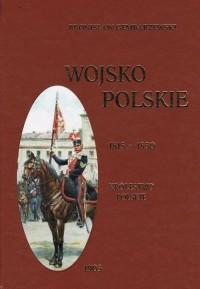 Wojsko Polskie. Tom 2. Królestwo - okładka książki