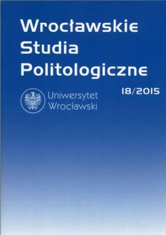 Wrocławskie Studia Politologiczne - okładka książki