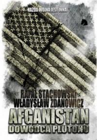 Afganistan. Dowódca plutonu - okładka książki