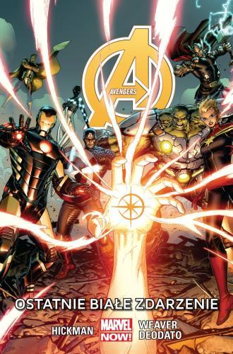 Avengers. Ostatnie białe zdarzenie. - okładka książki