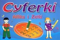 Cyferki Alfika i Zetki - okładka książki