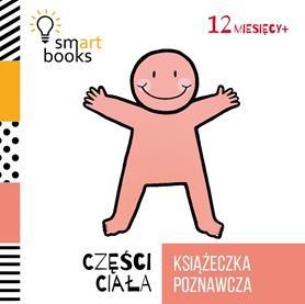 Części ciała. Książeczka poznawcza - okładka książki