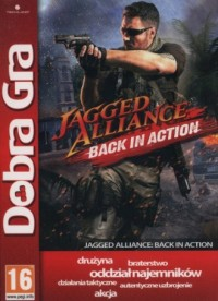 Dobra Gra. Jagged Alliance. Black in Action - pudełko programu