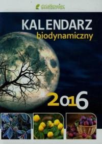 Kalendarz biodynamiczny 2016 - okładka książki