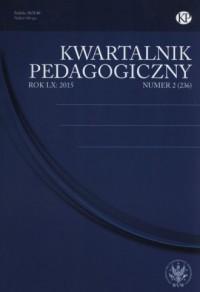 Kwartalnik Pedagogiczny 2/2015 - okładka książki