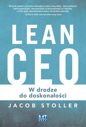 Lean CEO. W drodze do doskonałości - okładka książki
