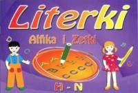 Literki Alfika i Zetki. H - N - okładka książki