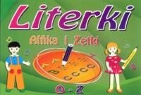 Literki Alfika i Zetki. O - Z - okładka książki