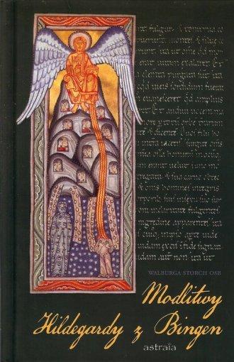 Modlitwy Hildegardy z Bingen - okładka książki