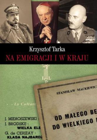 Na emigracji i w kraju - okładka książki
