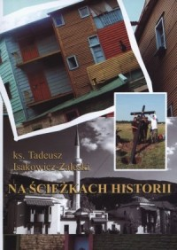 Na ścieżkach historii - okładka książki
