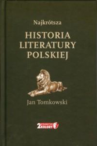 Najkrótsza historia literatury polskiej - okładka książki