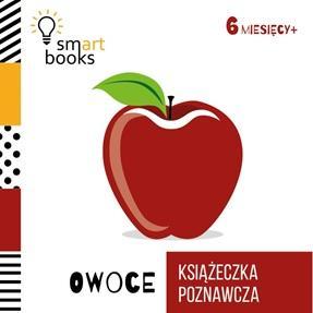 Owoce. Książeczka poznawcza (wiek - okładka książki