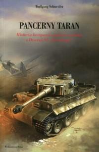 Pancerny taran. Historia kompanii ciężkich czołgów z dywizji SS Totenkopf - okładka książki