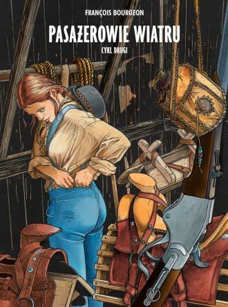 Pasażerowie wiatru. Wydanie zbiorcze. - okładka książki