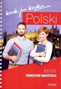 Polski krok po kroku. Podręcznik - okładka podręcznika