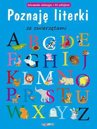 Poznaję literki ze zwierzętami - okładka książki