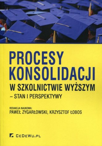 Procesy konsolidacji w szkolnictwie - okładka książki