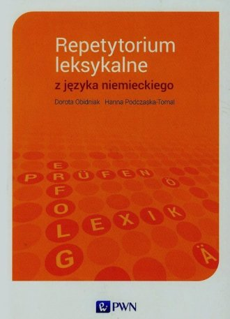 Repetytorium leksykalne z języka - okładka podręcznika
