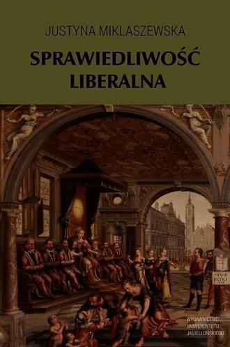 Sprawiedliwość liberalna - okładka książki