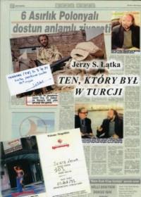 Ten, który był w Turcji - okładka książki