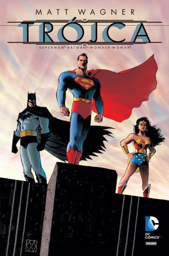 Trójca. Batman. Superman. Wonder - okładka książki