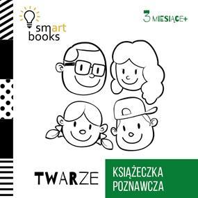 Twarze. Książeczka poznawcza - okładka książki