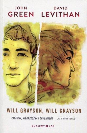 Will Grayson, Will Grayson - okładka książki