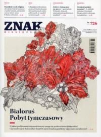 Znak nr 726. Białoruś. Pobyt tymczasowy - okładka książki