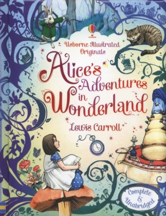 Alices Adventures in Wonderland - okładka książki