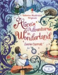 Alices Adventures in Wonderland - okładka książki