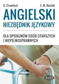 Angielski niezbędnik językowy dla opiekunów osób starszych i niepełnosprawnych - okładka podręcznika